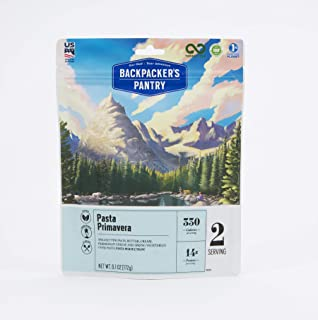 Backpacker's Pantry Pasta Primavera, 2 Servings Per Pouch