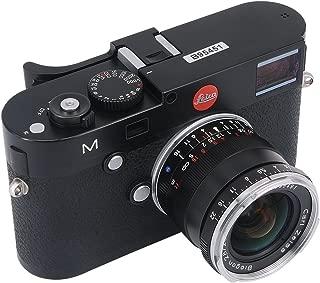 Haoge THB-M24B Metal Hot Shoe Thumb Up Rest Hand Grip for Leica M Typ240 M240, M-P Typ 240 M240P, M Typ262 M262, M-D Typ 262 Camera Black