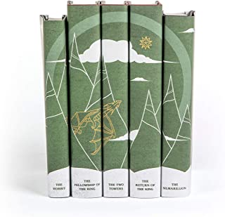 Juniper Books Lord of the Rings: The Complete Writings | 5-Volume Hardcover Book Set with Custom Designed Dust Jackets | ...