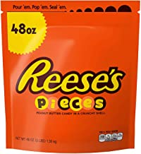 Reese's Pieces Candy 3 pounds Crunchy Shell, Creamy Peanut Butter And Rich Milk Chocolate