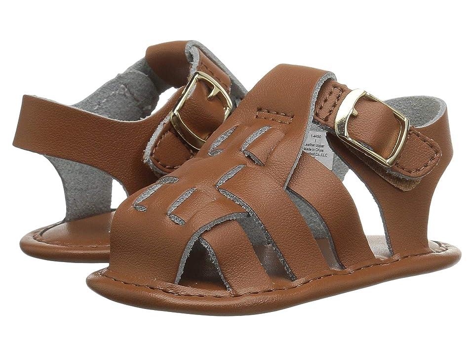 Baby Deer Leather Fisherman Sandal Waddle (Infant) (Tan) Boys Shoes