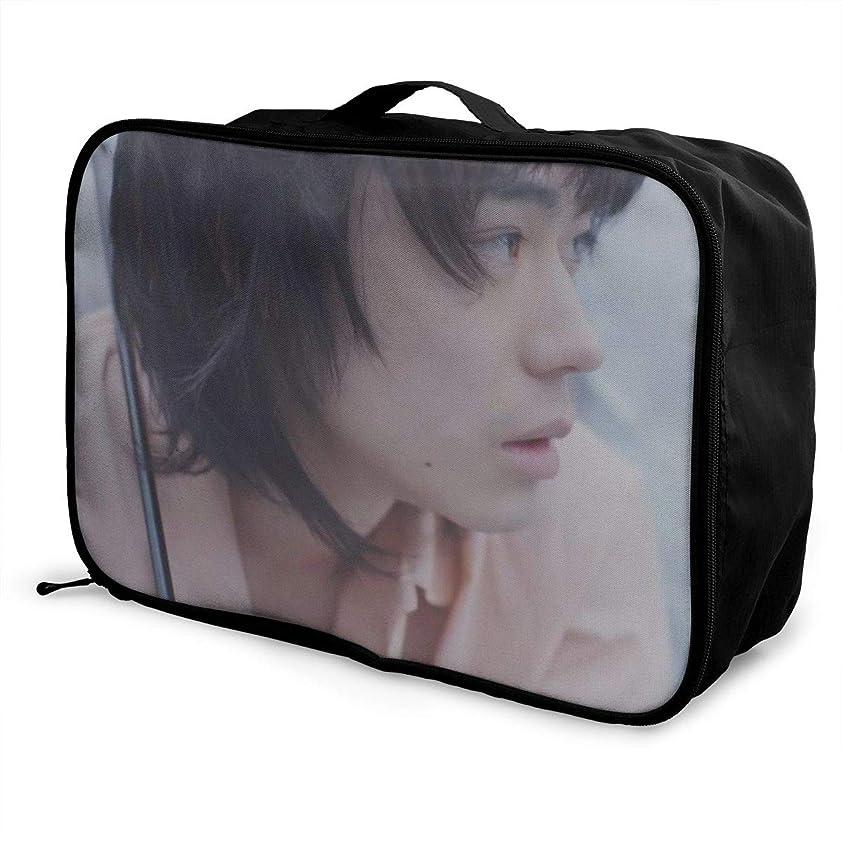 コテージ傘と組むSuda Masaki 旅行用トロリーバッグ 軽量 ポータブル荷物バッグ 衣類収納ケース キャリーケース 固定 出張パッキング 大容量 トラベルバッグ ボストンバッグ キャリーオンバッグ 旅行用サブバッグ