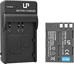 LP EN-EL3e Battery Charger Set, Compatible with Nikon D50, D70, D70s, D80, D90, D100, D200, D300, D300s, D700 & More, Replacement for Nikon EL3, EL3a