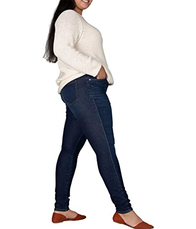 Jag Jeans Plus Size Valentina Pull-On High-Rise Skinny Fit Jeans (West Side Blue) Women
