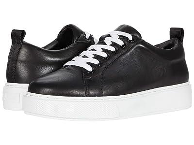 J/Slides Delilah (Black Leather) Women