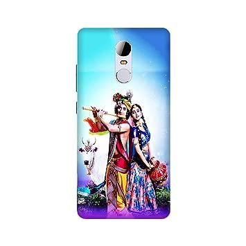Arpana Enterprises Printed Mobile Back Cover For Xiaomi Note 4 Radha Krishna Amazon In Electronics