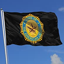 TJHJOL Sons of The American Legion 3x5 Feet Banner for Yard Decorative