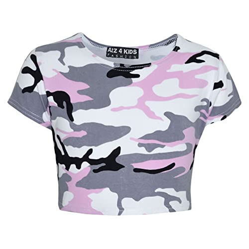 Crop Tops Kids: Amazon.co.uk