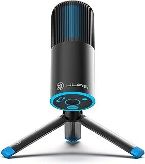 JLab Talk Go USB Microphone | USB-C Output | Cardioid or Omnidirectional | 96k Sample Rate | 20Hz - 20kHz Frequency Respon...