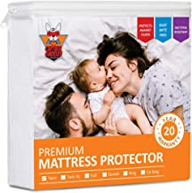 CAPTAIN SNOOZE Waterproof Mattress Protector Twin Size,...