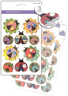 Bulk AoneFun 3 Pk Realistic Musical Instruments Stickers Vintage Antique Puffy Musical Instrument Stickers Premium Music Scrapbook Stickers 3D Dimensional Music Craft Stickers Rustic Embellishments
