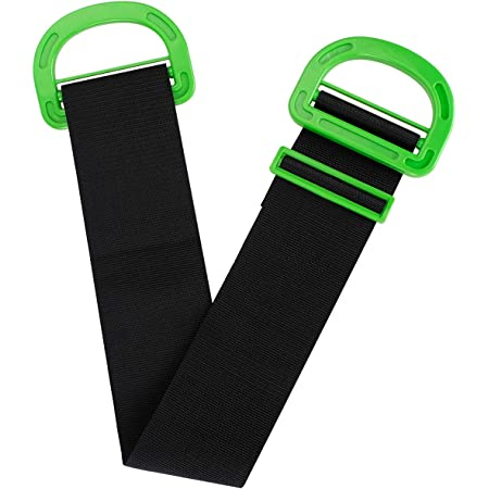 Adjustable Carry Strap, Lifting Moving Straps with Durable Handles Multifunctional Carrying Belt for Boxes,Furniture,Mattress,Construction or Awkward Objects