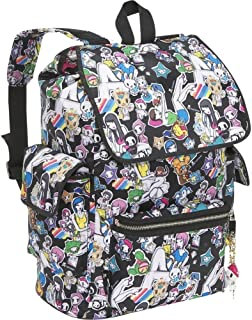 TOKIDOKI Denim Daze unicorno Sandy Backpack and Lil Kaiju 9Forty Adjustable Hat