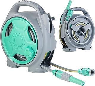 Cellfast Schlauchbox funktionale kompakt und wiederst/ändig inklusive Schlauch 3//8 9mm x 10m und Anschlussgarnitur 2m 55-400 Schlauchtrommel ERGO XS