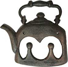Cast Iron Tea Kettle with 2 Hooks