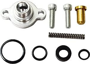 Fuel Pressure Regulator Billet Valve Cap Kit For Ford 7.3L Powerstroke Diesel
