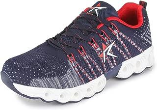 REFOAM Men's Navy Mesh/Textile Sport Running Shoes