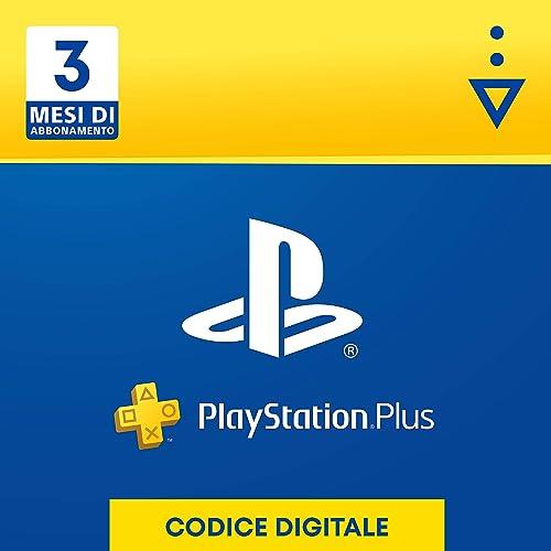 PlayStation Plus Abbonamento 3 Mesi   Codice download per PSN - Account italiano