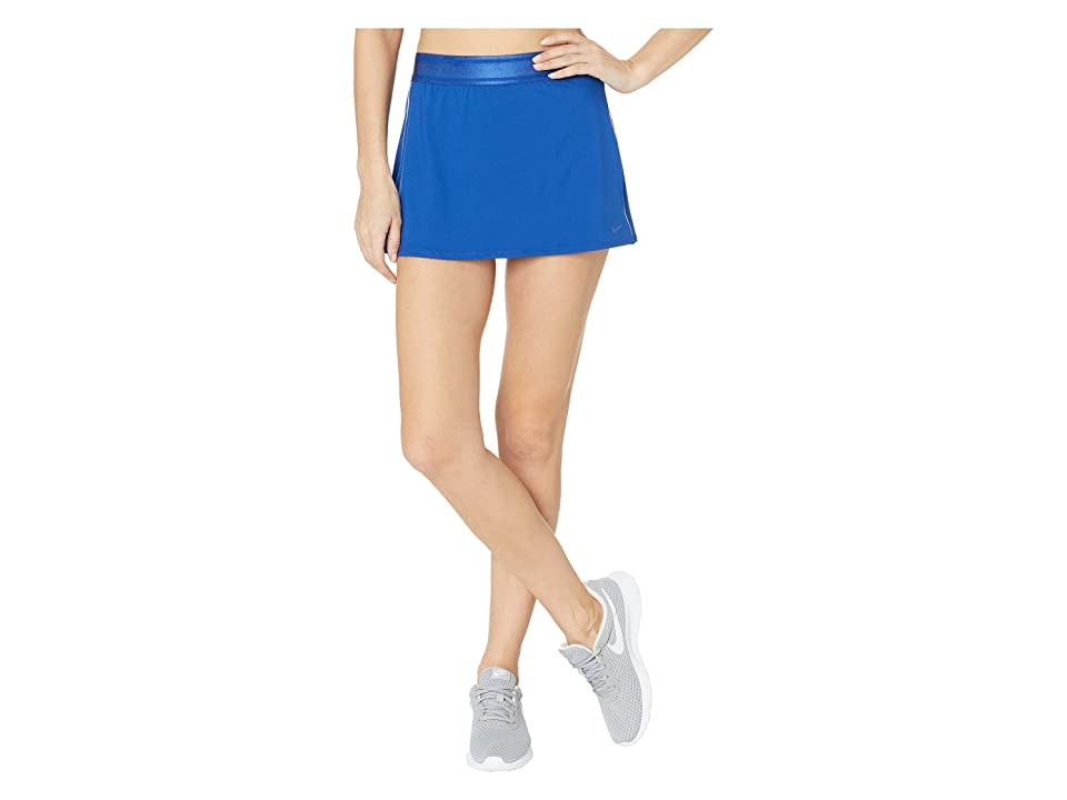 Nike Court Dry Skirt Stretch (Indigo Force/White/White/Indigo Force) Women