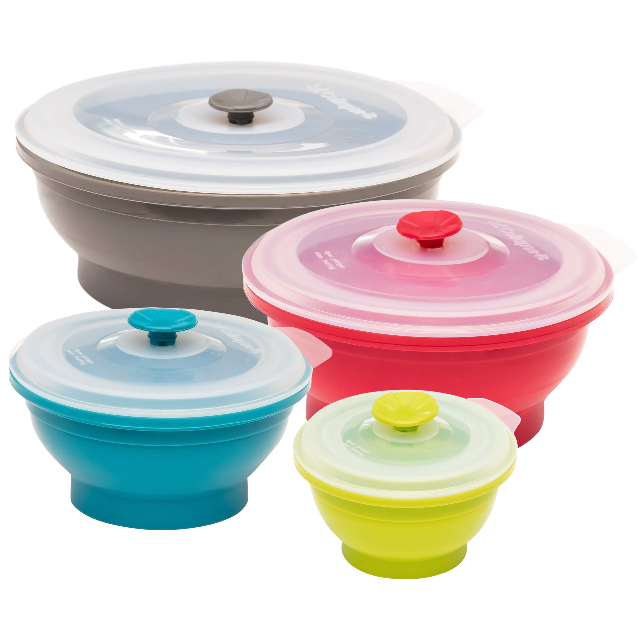 Collapse Silicone Food Storage Containers