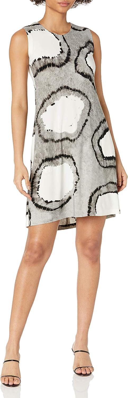 Norma Kamali Women's Sleeveless Swing Dress