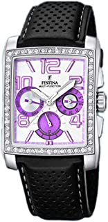 Festina watches Womens Analog Quartz Watch with Leather bracelet F16362/U