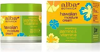 alba botanica hawaiian moisture cream jasmine & vitamin e
