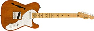 Squier by Fender エレキギター Classic Vibe 60s Telecaster® Thinline, Natural