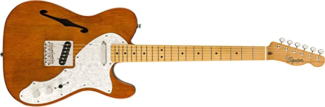 Squier by Fender Classic Vibe 60's Telecaster Thinline - Diapasón de arce, natural
