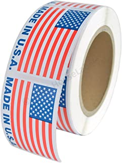 """1 Roll Made in USA Pre-Printed Labels Stickers (2"""" x 3"""") ; 500 Labels per Roll - BPA Free!"""