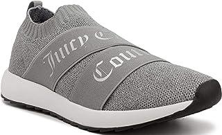 أحذية رياضية نسائية عصرية برباط من Juicy Couture Annouce بلون رمادي فاتح 10