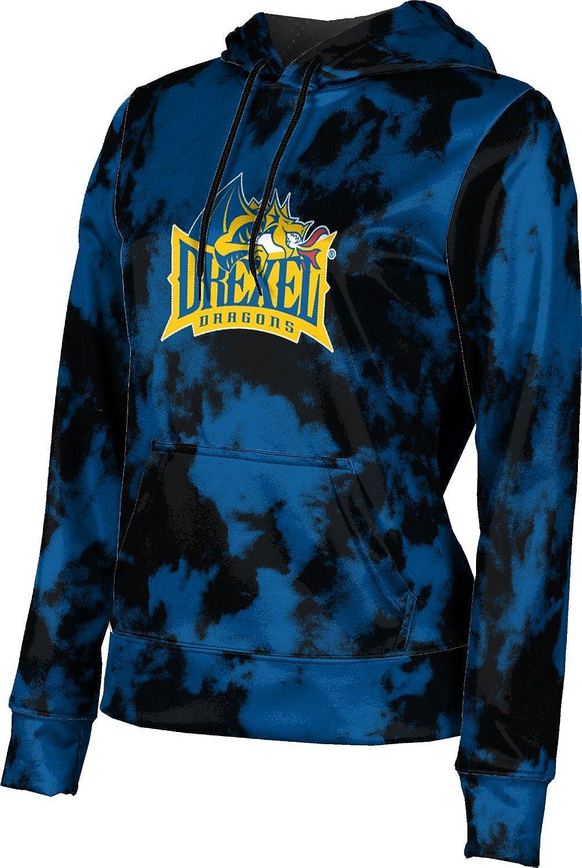 ProSphere Drexel University Girls' Pullover Hoodie, School Spirit Sweatshirt (Grunge)
