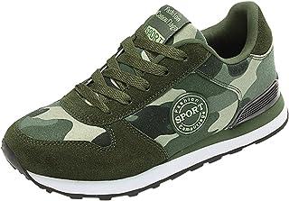 SENDKEEL Herren Walkingschuhe Turnschuhe Fitnessstudio Sportschuhe Sneaker Running Tennis Schuhe Freizeit Straßenlaufschuh...