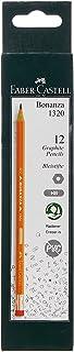 Faber-Castell Bonanza Graphite Pencil Hb With Eraser Tip Box Of 12Pc