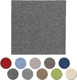 アイリスプラザ タイルカーペット 6畳 48枚セット カーペット ジョイントマット チャコール 50×50 TKP-PP50