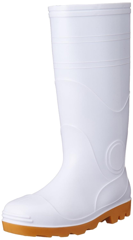 [オタフクテブクロ] おたふく 安全耐油長靴(鋼鉄芯入) #709 白 26.5cm