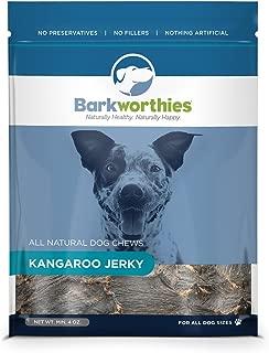 Barkworthies Natural Kangaroo Jerky Dog Chew