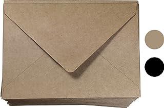 ظرف دعوة كرافت A1 (4 قطع) مقاس 50 قطعة، من سيكريت لايف 3-5/8 × 5-1/8 بوصة