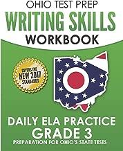 OHIO TEST PREP Writing Skills Workbook Daily ELA Practice Grade 3: Preparation for Ohio's English Language Arts Tests