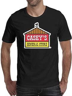 Casey's General Store by Joey Bergstrand Men's Short Sleeve T Shirts Cotton Novelty Hygroscopic T-Shirt