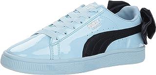 PUMA  Unisex-Kids  Basket Bow Patent Sneaker