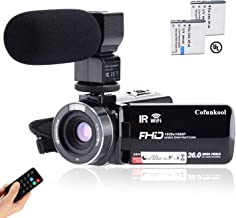 Best video camera with microphone and tripod Reviews