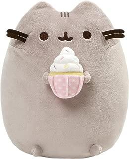 GUND Pusheen Snackables Sprinkled Cupcake Plush Stuffed Cat, 9.5