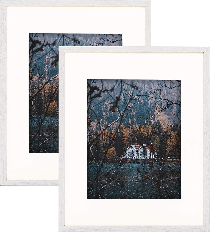Frametory Smooth Wood Brand new Grain Finish Frame for [Alternative dealer] Pho Ivory Mat with