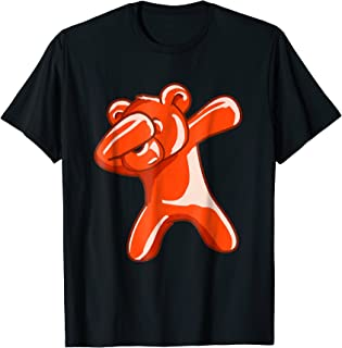 Dabbing Bear Gummy Candy Dance Dab Funny Sweet Lover T-Shirt
