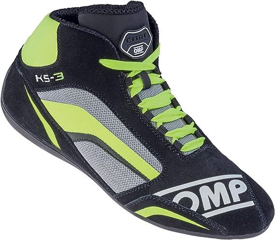 Size UK 3 OMP OMPIC//81324136 KS-3 Shoes Blue//Black//Cyan