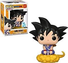 #014 // 03807 - B Funko Super Saiyan Goku: Dragonball Z x POP Animation Vinyl Figure /& 1 POP Compatible PET Plastic Graphical Protector Bundle