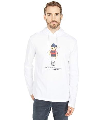 Polo Ralph Lauren Polo Bear Hooded T-Shirt (White) Men