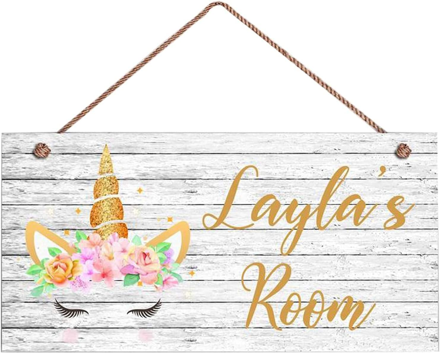 Large discharge sale MAIYUAN Personalized Custom Unicorn Princess Chi Room Metal Sign Courier shipping free shipping