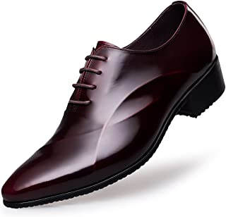 Men's Lace Up Formal Modern Oxford Dress Shoes